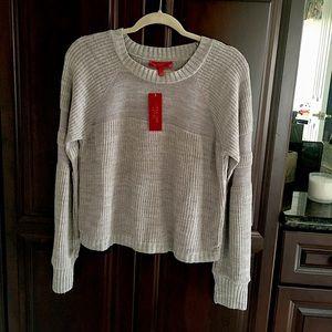 Jennifer Lopez Light Sweater Size: M